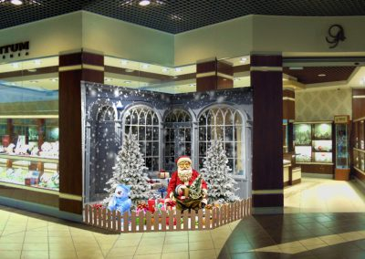 Christmas Display RL-SC-004