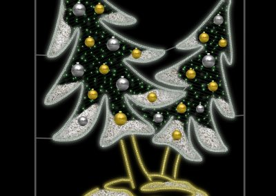 Christmas Tree 2D RL-SP-025