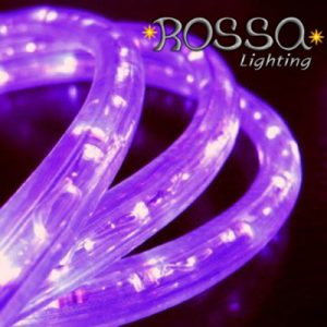 Christmas Rope Lights - Purple LED - 50 mtr Rolls-