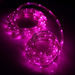 LED Light Rope - Pink LED
