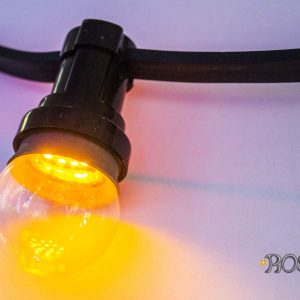 led light bulbs yellow clear