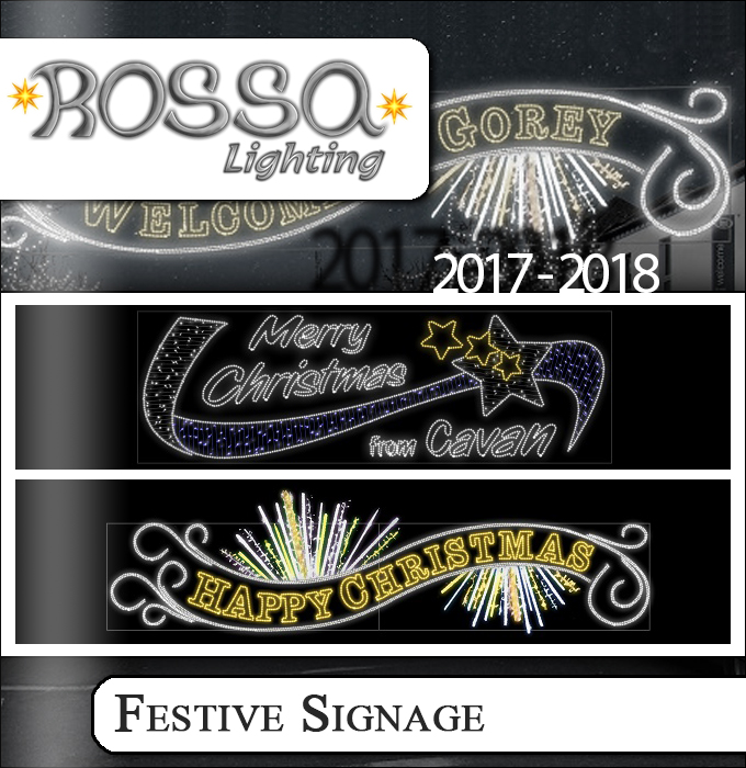 Festival Signage Lighting Products