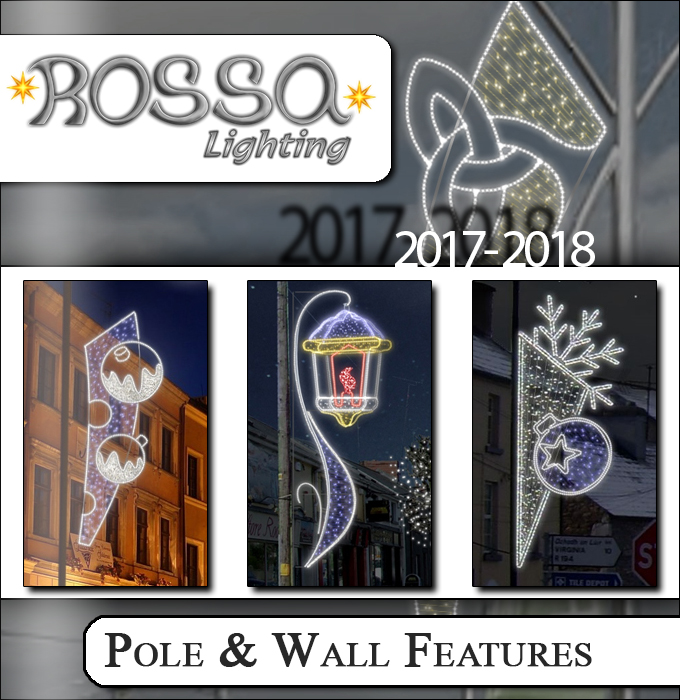 Pole & Wall Lighting Feature Products
