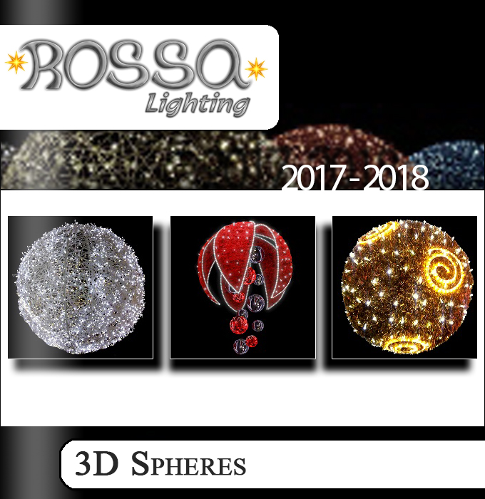 3D Sphere Lighting Products