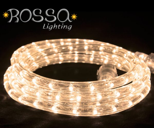 rope light ice white led