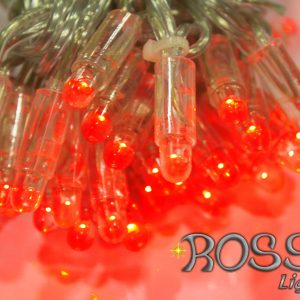 outdoor string lights red led