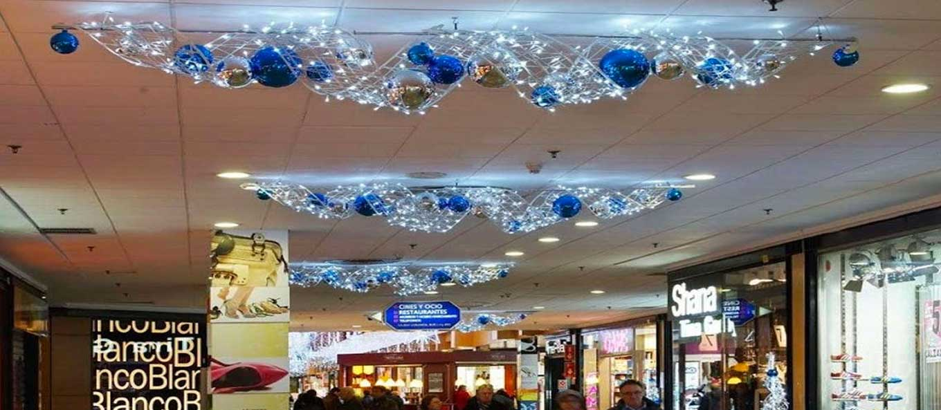 Christmas Lighting Shopping Centre